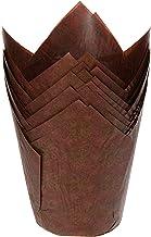 RedMan 13338 Tulip Baking Case, 16cm x 16cm Brown (Pack of 100)