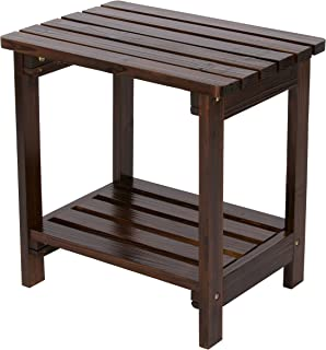 Best wood patio end table Reviews