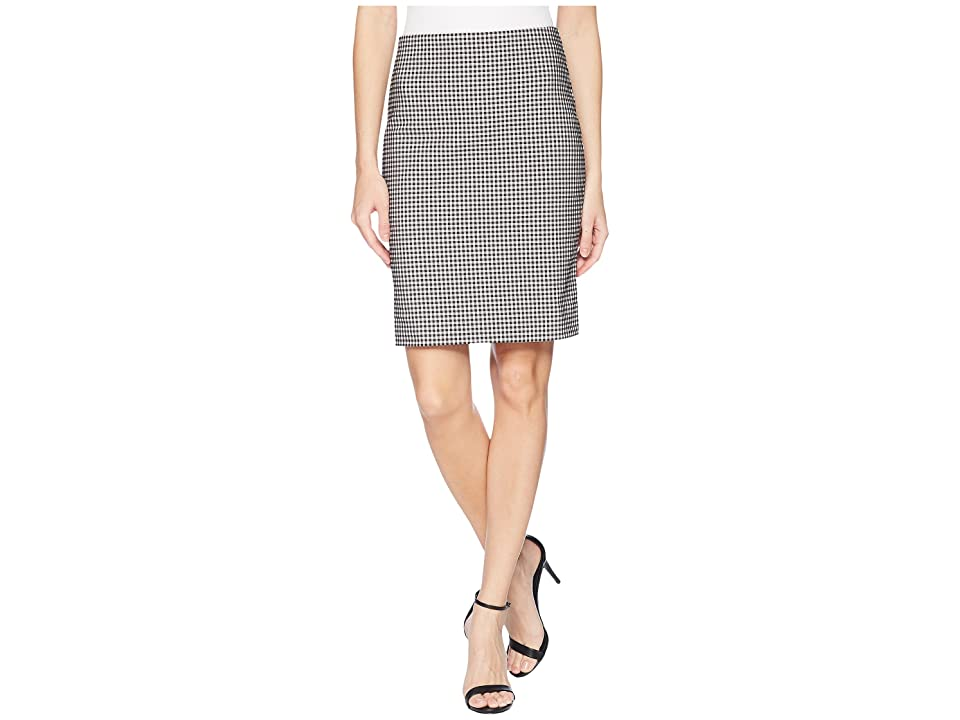 Karen Kane Gingham Skirt (Check) Women