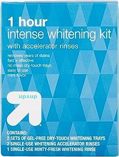 たった1時間で効果がわかる アップ&アップ ホワイトニングキット 1-Hour Intense Teeth Whitening Kit - up & up