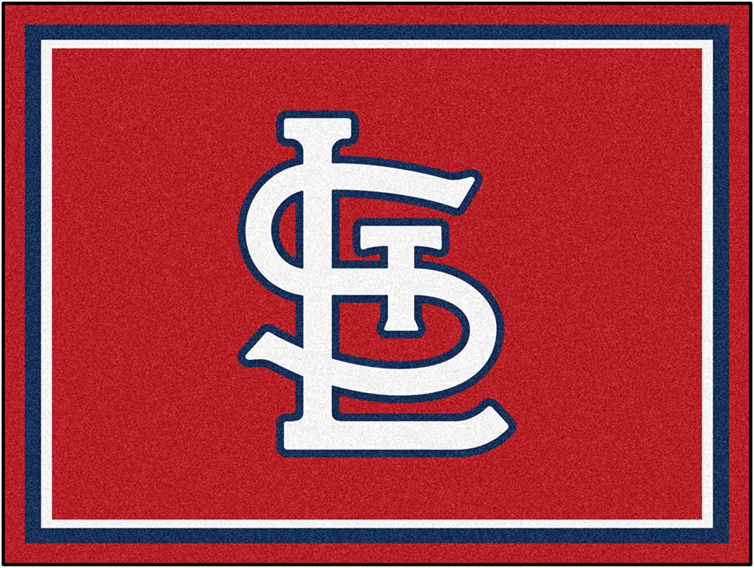 MLB - St. Credence Louis 2021new shipping free shipping Cardinals 8ft. Area ft. x 10 Rug Plush
