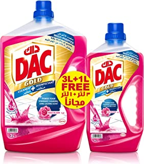 Dac Disinfectant Gold Rose - 3+1L