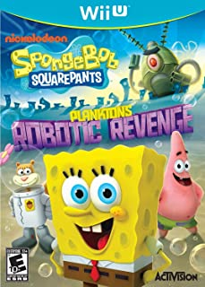 SpongeBob SquarePants: Plankton's Robotic Revenge - Nintendo Wii U