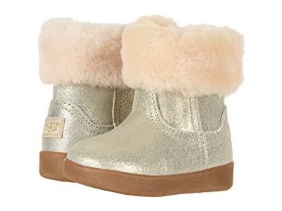 UGG Kids Jorie II Metallic (Infant/Toddler) (Gold) Girls Shoes