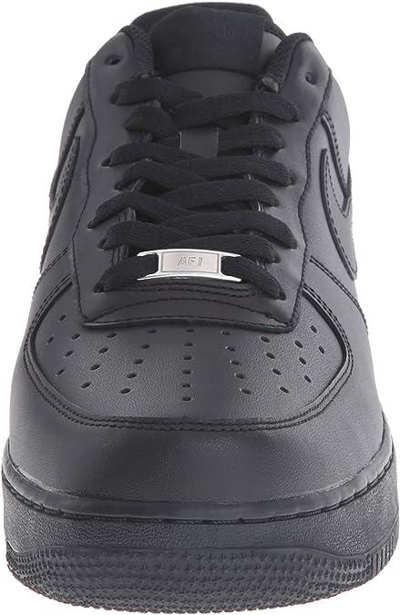 Men Nike Air Force 1 '07 Low Black / Black 315122-001 Size 13