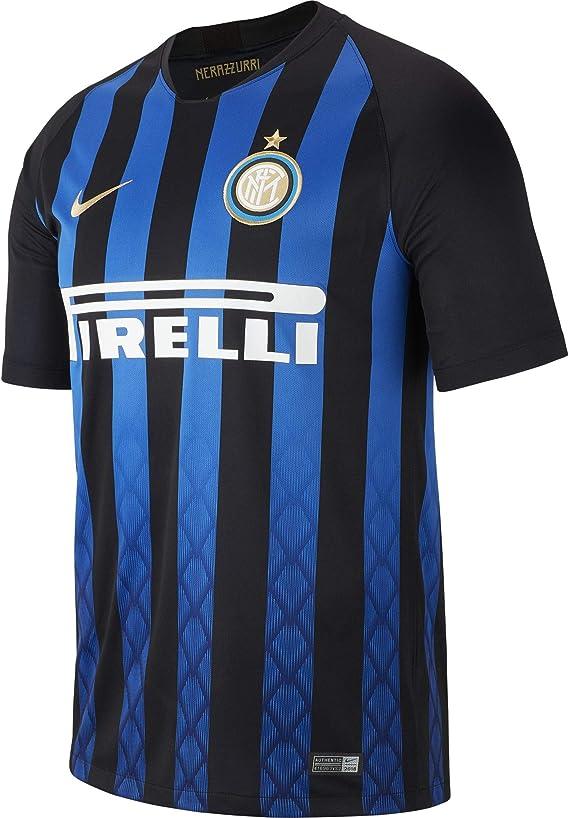 2018-2019 Inter Milan Home Nike Football Shirt : Amazon.ca: Sports ...