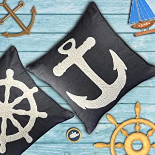 Best nautical blue pillows Reviews