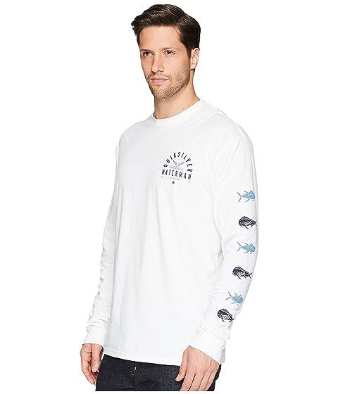 Catch manga larga de Fresh Camiseta Waterman Quiksilver Blanco Ypxpdwq
