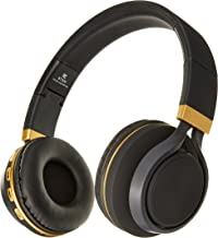 Sentry Industries BT300 Bluetooth Stereo Headphones with Mic, Black