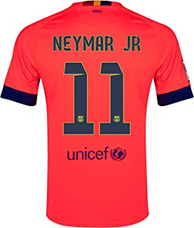 Nike Barcelona 2014_15 Away Jersey Neymar JR #11 Size Adult XL