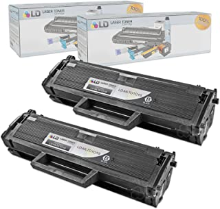 LD Compatible Toner Cartridge Replacement for Samsung MLT-D101S (Black, 2-Pack)