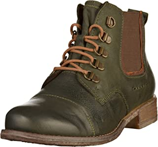 Sienna 09 Womens Casual Hiker Chelsea Ankle Boots 39 M EU/ 8-9 B(M) US Olive Combi