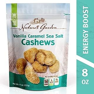 Nature's Garden Vanilla Caramel Sea Salt Cashews - 8 oz.