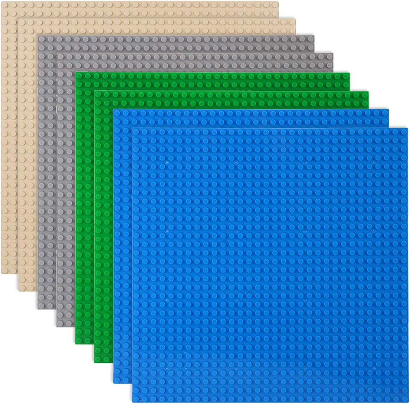 Classic Baseplates Building Plates Bricks Comp Daily bargain sale 100% for Mesa Mall