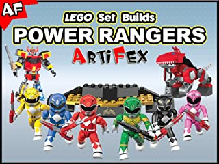 Clip: Lego Set Builds Power Rangers - Artifex