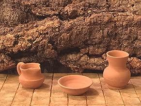 Collectible Accessories Clay Pots Nativity Scene Creche - USA_Mall