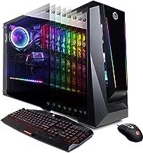 CYBERPOWERPC Gamer Supreme Liquid Cool SLC10280CPG Gaming PC (AMD Ryzen 7 2700X 3.7GHz, 16GB DDR4, AMD Radeon RX 590 8GB, 480GB SSD, 1TB HDD, 802.11AC WiFi, Win 10 Home)
