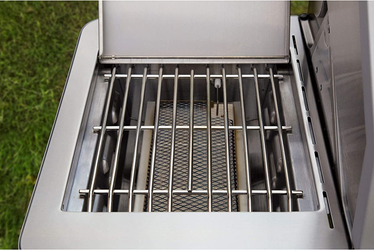 Monument Grills Stainless Steel 4 Burner Propane Gas Grill 54 Inch Grill Cover
