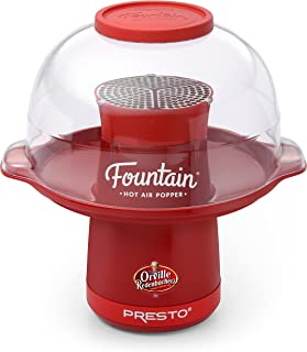 Best fountain hot air popper by presto Reviews