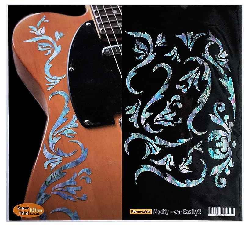 Inlay Sticker Decals for Guitar Bass - Bob Weir's Cowboy Fancy -Mix
