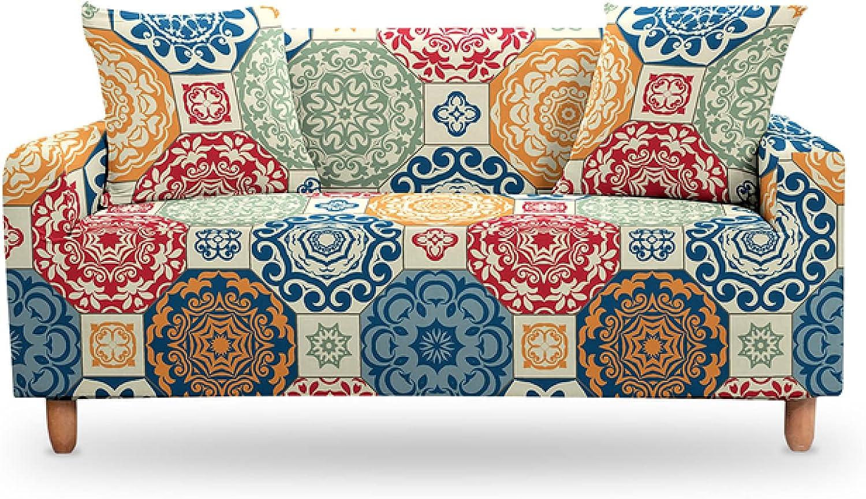 ZHOUMOLIN Geometric Slipcovers Max 87% OFF Ranking TOP9 Sofa Cover Print Living Room for