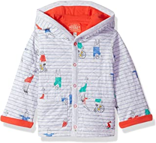 Baby Boys' Cuddle Quilted Hooded Jersey Sweat