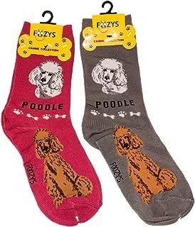 coloured poodle socks