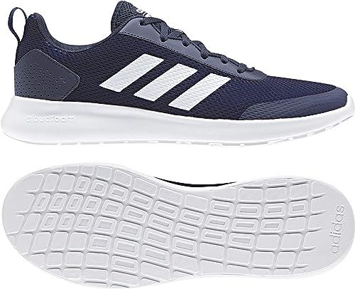 adidas Herren Argecy Fitnessschuhe, Weiß SchwarzHellklar, EU