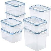 14-Piece Lock & Lock Easy Essentials Rectangular Food Storage Container Set