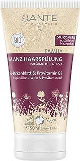 Sante Naturkosmetik Glanz Haarspülung Bio-Birkenblatt-Extrakt 150ml, 1er Pack 1 x 150 ml