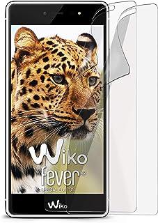2 x Wiko Fever SE | Skyddsfilm matt display skydd [Anti-reflex] skärmskydd fingertryck mobiltelefonfilm matta display foli...
