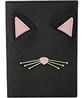Kate Spade New York - Cat's Meow Cat Passport Holder
