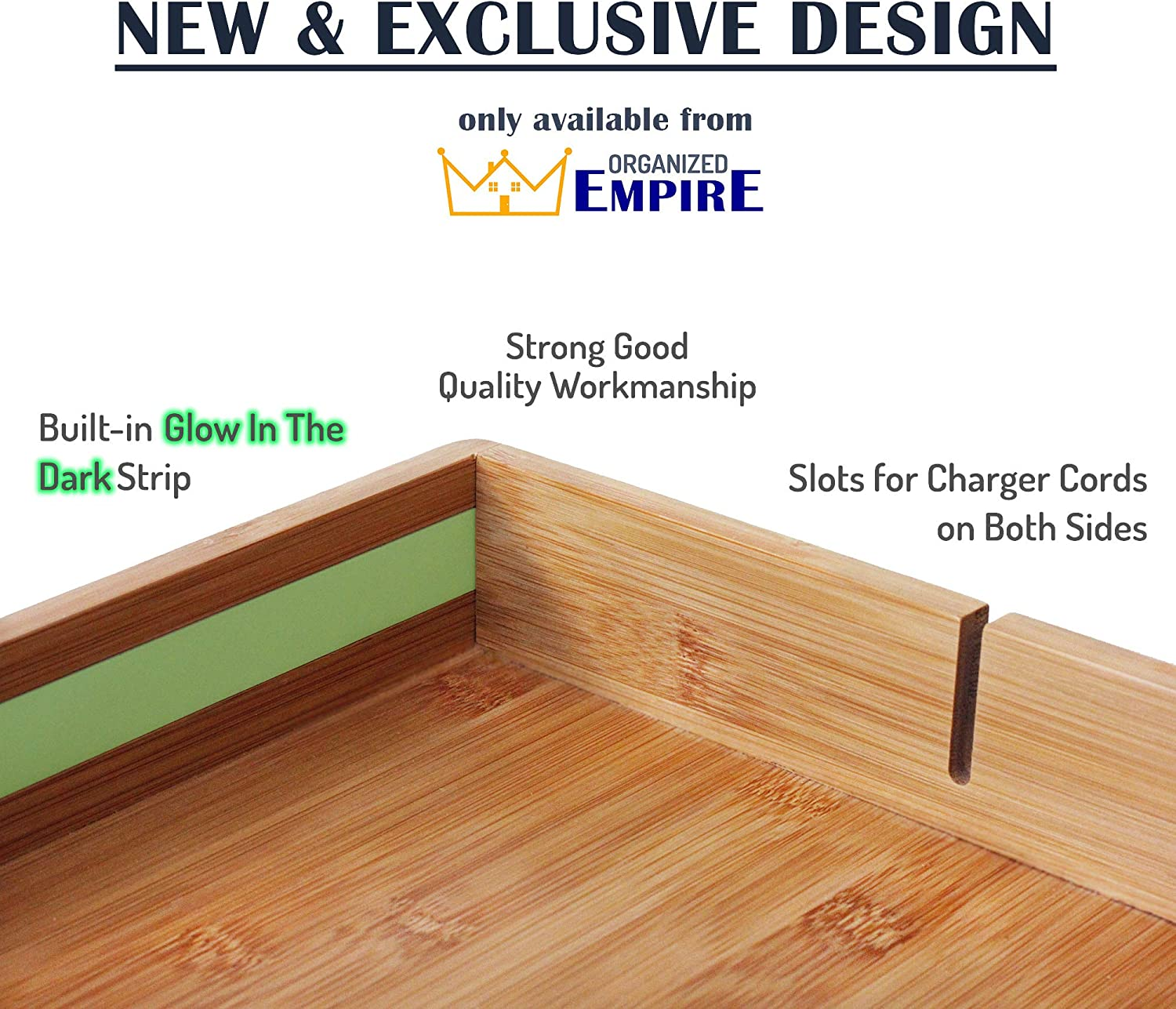 Buy Bunk Bed Shelf For Top Bunk With Glow In The Dark Wayfinding Strip Easy To Install Kids Bed Shelf Attachment Bunk Buddy Bedside Shelf Organizer Or Bunk Bed Tray Table