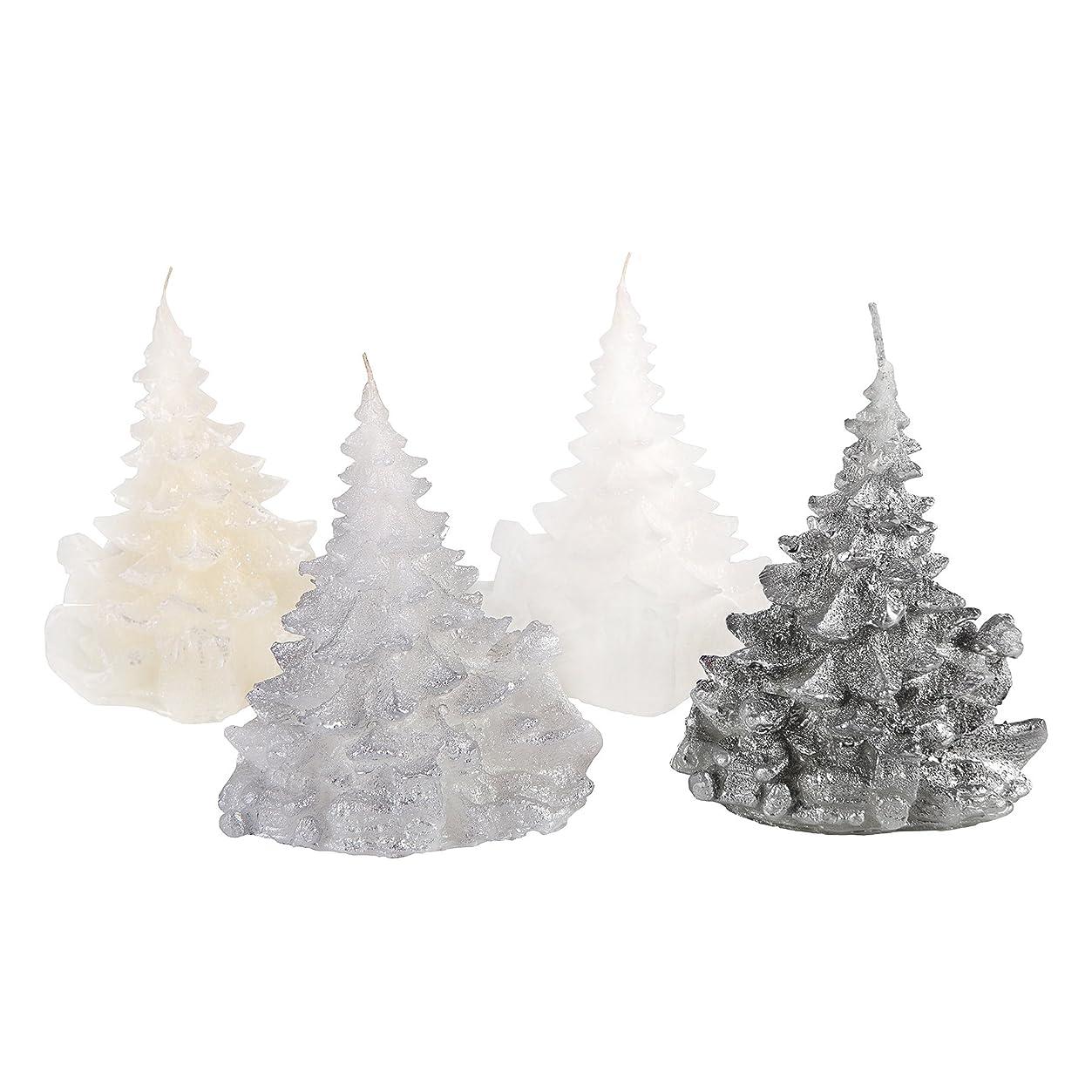 急襲区別意志に反するCandle Atelierハンドメイド休日キャンドル Merry Christmas Trees 4F1-CTP1VTW-0SP