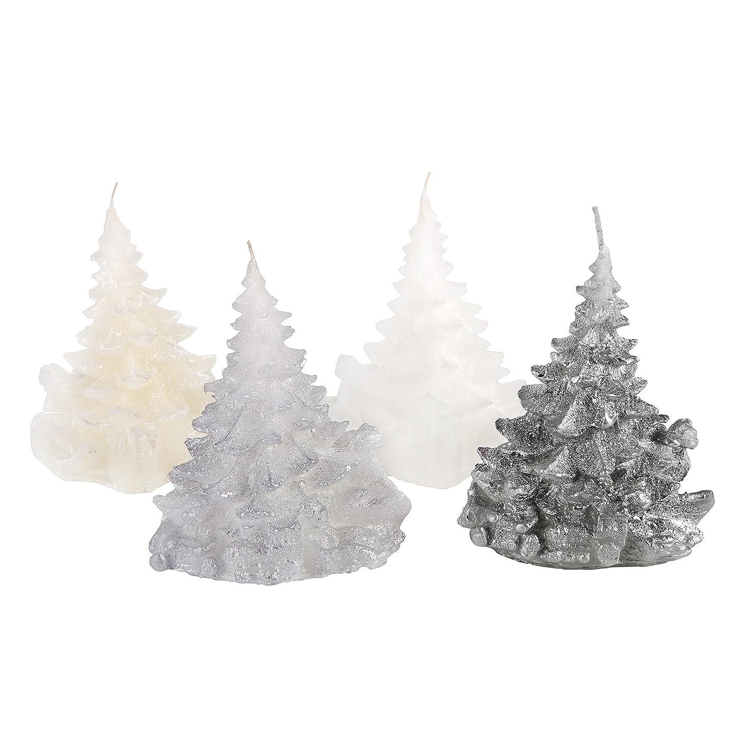 懇願するコード山積みのCandle Atelierハンドメイド休日キャンドル Merry Christmas Trees 4F1-CTP1VTW-0SP