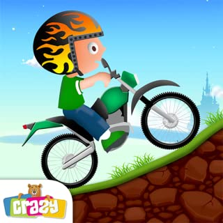 Crazy Bike Hill Race: Motorcycle racing game