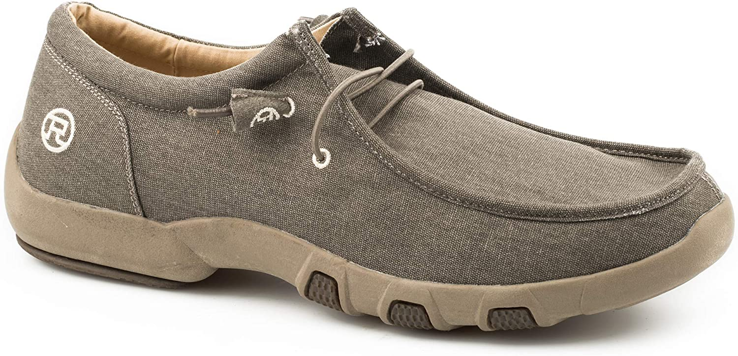 Details about  /Roper Women/'s Chillin Tan Fabric Driving Moc 1791-2610