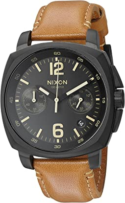 Nixon - Charger Chrono Leather