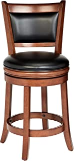 Ball & Cast Counter Stool - 24 Inch Seat Height, Cherry