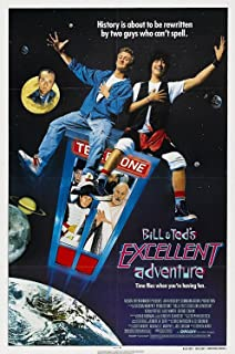 Da Bang Bill & Ted's Excellent Adventure (1989) Movie Poster Cult Classic 24X36INCH