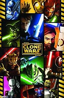 Trends International Star Wars: The Clone Wars Grid Wall Poster 22.375