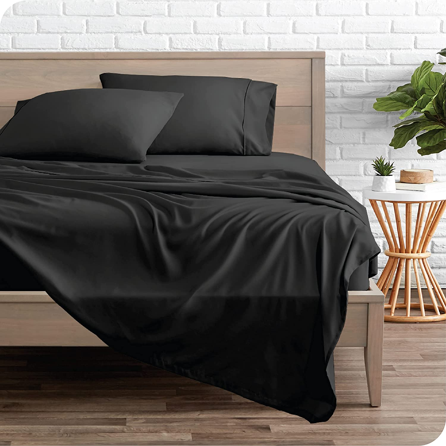 Bare 55% OFF Home Twin Sheet Set - Challenge the lowest price Microfiber S Bed 1800 Ultra-Soft