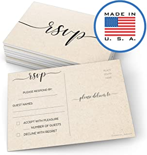 custom wedding response cards