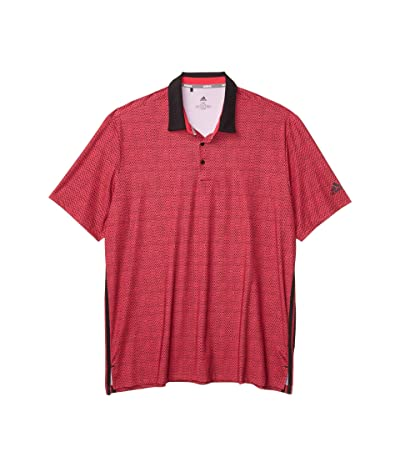 adidas Golf Ultimate365 Delivery Polo (Power Pink/Black) Men