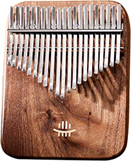 $157 » 17||21 Keys Kalimba Thumb Piano, Black Walnut Marimbas Finger Instrument,Pocket Thumb Finger Piano,with Bag Tuning Hammer ...