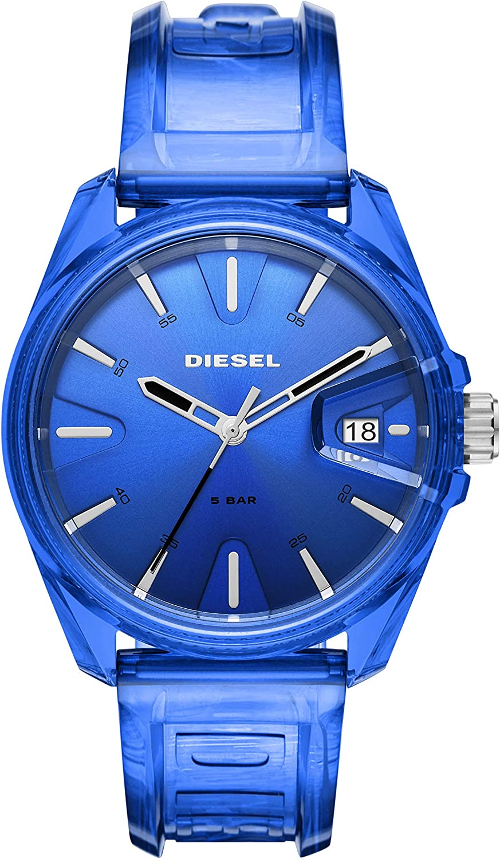Diesel Reloj Analógico para de los Hombres de Cuarzo con Correa en plástico DZ1927