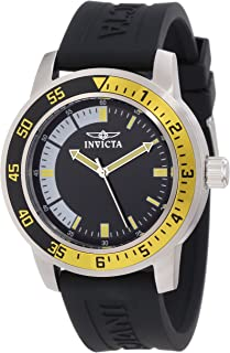"Invicta Men's 12846""Specialty"" Stainless Steel Watch with Black Band"