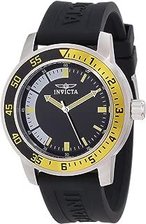 """Invicta 12846 """"Specialty"""" Reloj para hombre en acero inoxidable con faja negra"""