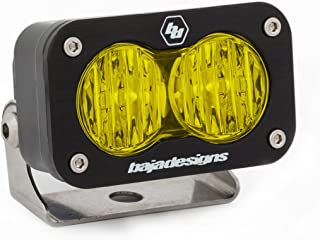 Baja Designs 54-40015 Amber S2 Sport LED Wide Cornering