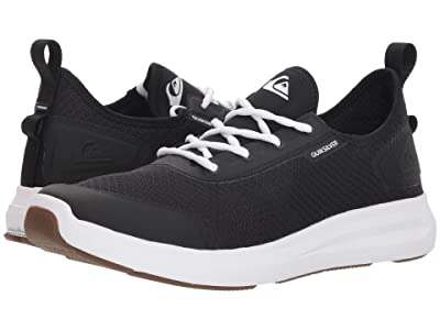Quiksilver Layover Travel Shoe (Black/Black/White) Men